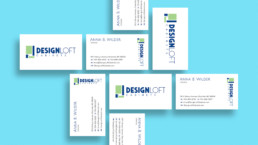DesignLoft Cabinets Business Card Design