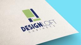 DesignLoft Cabinets Logo Design
