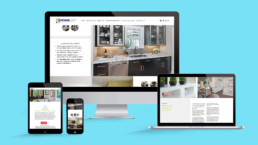 DesignLoft Cabinets Website Design
