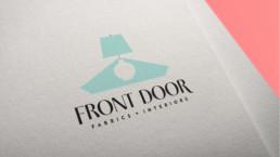 Front Door Fabrics + Interiors Logo Design