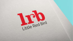 Little Red Bird Logo Design