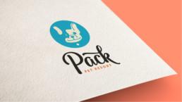 Pack Pet Resort Logo Design