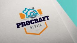 ProCraft Repair Logo Design